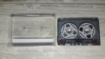 Pioneer Audio Tape New Blank White Color Cassette Reel to Reel Empty 60 MIN