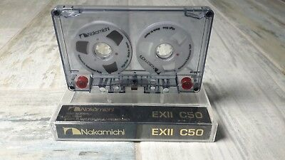 Nakamichi Audio Tape New White color Cassette Reel to Reel