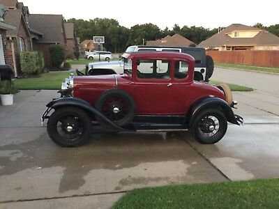 1930 Ford Model A  1930 Ford Model A Coupe with Rumble Seat