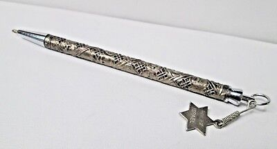 Vintage Tribes of Israel Sterling Silver Pen