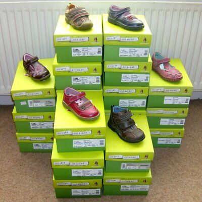Job lot 21 Pairs New HUSH PUPPIES Leather Childrens Girls Boys Shoes RRP £672