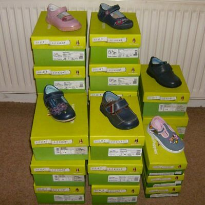 Job lot 22 Pairs New HUSH PUPPIES Leather Childrens Girls Boys Shoes RRP £644