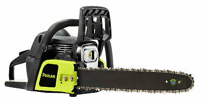 Poulan PL3314, 14 in. 33cc 2-Cycle Gas Chainsaw (Certified Refurbished)