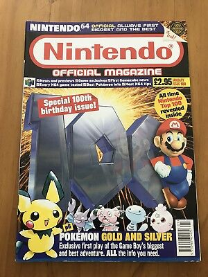 Official Nintendo Magazine - Issue 100 - Jan 01 - Pokemon Gold - Nintendo 64