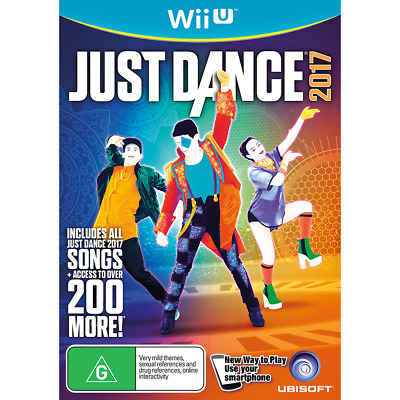 Just Dance 2017 - Nintendo Wii U - PREOWNED