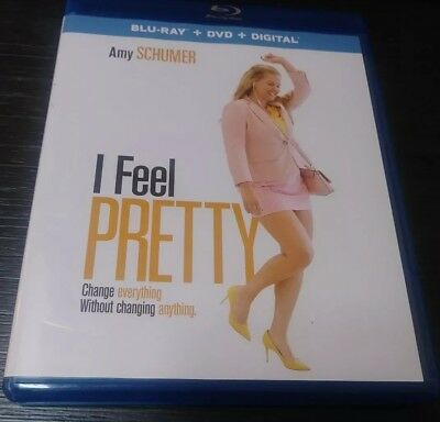I Feel Pretty 2018 BLU-RAY ONLY With Case & Artwork Amy Schumer  Comedy Funny