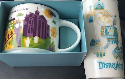 Disney Parks Disneyland Haunted Mansion You Are Here Starbucks Mug 2018 & More!!