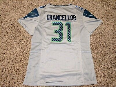 Discount SEATTLE SEAHAWKS KAM Chancellor Nike On Field Jersey Men's Large  for sale