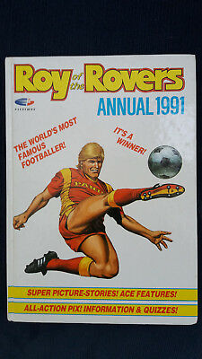Roy of the Rovers annual 1991