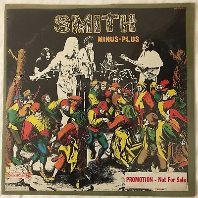Smith Minus-Plus Lp 1970  Dunhill Stereo  Original Usa Sealed  Promo