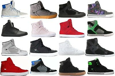 SUPRA YOUTH Vaider Skytop Atom Skate Shoes Sneakers Kids Boys ALL SIZES