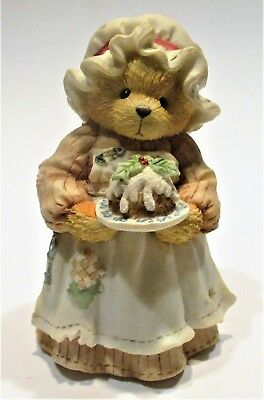 """Cherished Teddies Mrs. Cratchit """"A Beary Christmas And A Happy New Year!"""" Enesco"""