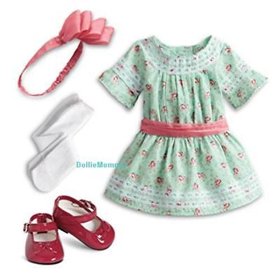 New American Girl Samantha Special Day Dress~Holiday Outfit Complete~BeForever
