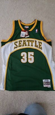 bba5dc88e NEW KEVIN DURANT Seattle SuperSonics Mitchell   Ness Swingman JERSEY Size  XL NWT