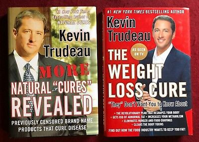 "More Natural ""Cures"" Revealed & The Weight Loss Cure by Kevin Trudeau"