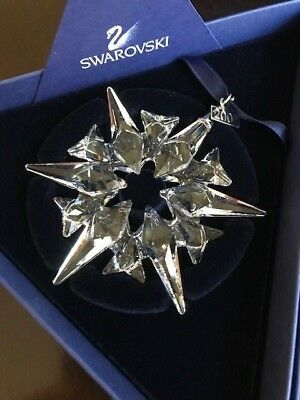 2007 Swarovski Crystal Snowflake Annual Edition Christmas Ornament - NIB