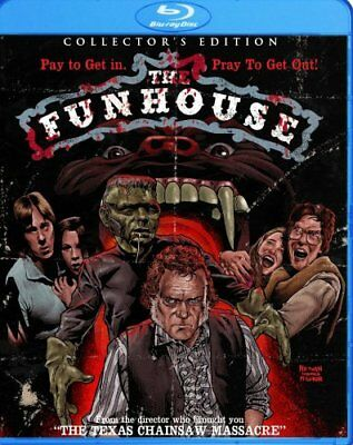 THE FUNHOUSE New Sealed Blu-ray Collector's Edition