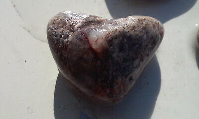 3 Beautiful Small Natural Near Perfect Heart Shaped Rocks from Colorado! +XTRAS