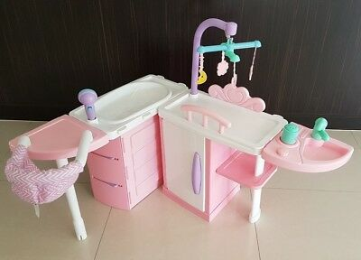 Tinkers Baby Doll Nursery Centre EXCELLENT CONDITION, bath change table chair