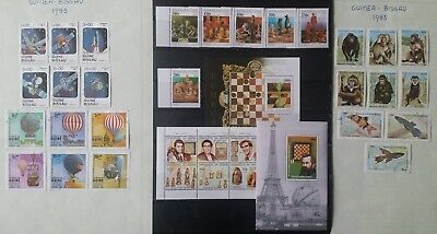 Lot of Guinea Bissau Old Stamps Used/MNH