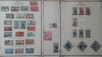 Lot of Mexico Airmail & Postal Tax Stamps Used/MH