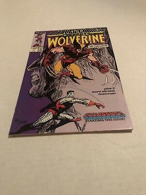 Marvel Comics presents Wolverine #10 1989