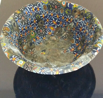 ancient antique phoenician mosaic bowl