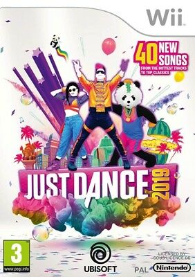 Just Dance 2019 Nintendo Wii * NEW SEALED PAL *
