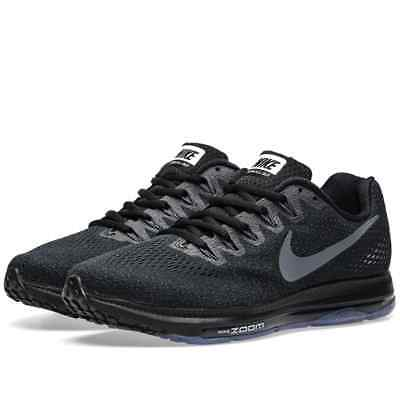 reputable site 3aff3 5a845 Homme Nike Noir Gris Zoom Tous dehors Bas Chaussures Course 878670 001 Neuf