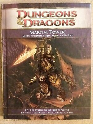 Martial Power - Dungeons & Dragons 4th Ed. - 1st Print 2008 - Mint Copy