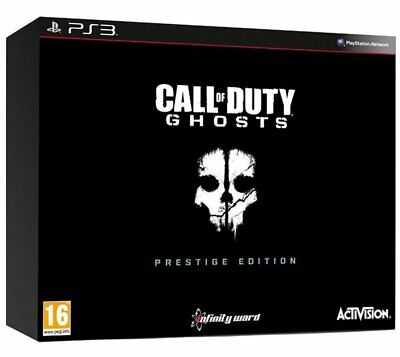 Call of Duty: Ghosts Exclusive Prestige Edition Sony PlayStation 3 PS3 Brand New