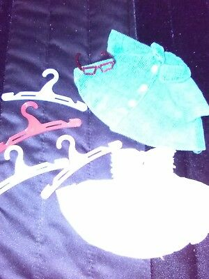 Vintage Ginny Clothes Lot W/Hangers Marked