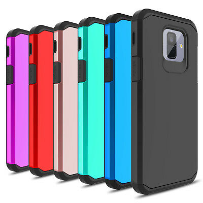 For Samsung Galaxy A6 2018 Case Shockproof Hybrid Full Protective Armor Cover
