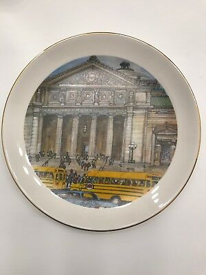 Vtg Limited Edition Chicago Collection Museum of Science & Industry Plate 1979