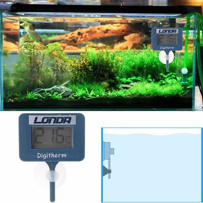 LCD Digital Water Thermometer Fish Tank Temperature Meter For Aquarium Marine