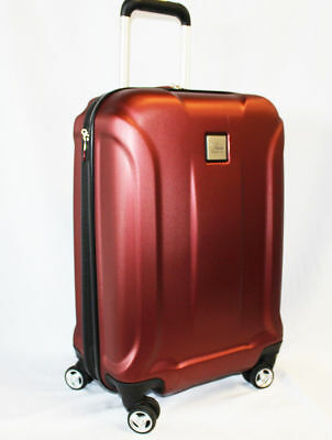Skyway Nimbus 20-INCH SPINNER CARRY-ON LUGGAGE SUITCASE   RED N1