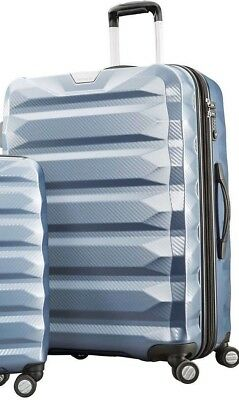 "Samsonite Flylite DLX 2 Piece Spinner  Lugg 28"" ICE BLUE LARGE SUITCASE ONLY"