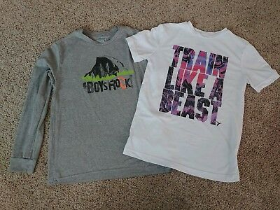 Lot Of 2 Boys Shirts Size Large, North Face and Old Navy