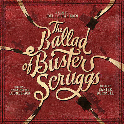 The Ballad of Buster Scruggs CD (2018) ***NEW***