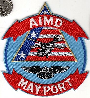 US NAVY Mayport Florida NAS Helicopter Air Crew Wing AIMD Patch