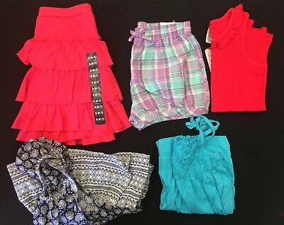 NWT Girls Bulk Lot - Size 6-7 - Milkshake, GAP