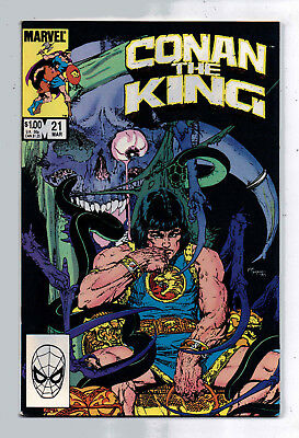 Conan the King #21 and #22, Marvel, 1984, VF condition, Robert E Howard