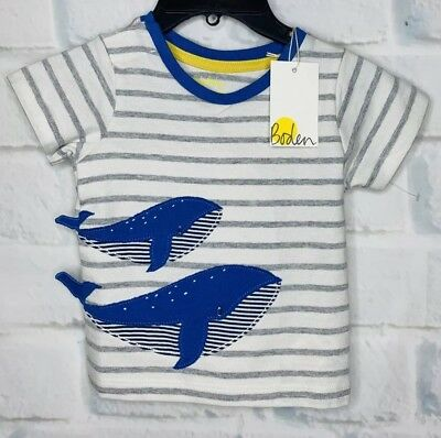 Clothes, Shoes & Accessories NEW JUST IN Baby Boden Boys Applique Top T Shirt Short Sleeve 0-3 Mths 4Yrs Baby