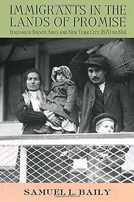 Immigrants in the Lands of Promise: Italians in Buenos Aires and New York Cit...