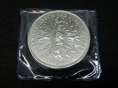 D1 XMAS 1980 QUEEN MOTHER Crown Coin in wallet Christmas Stocking Filler Gift UK