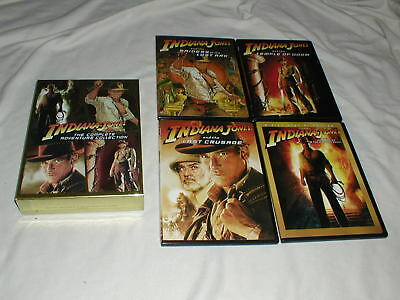 Indiana Jones - The Complete Adventure Collection DVD's 5-Discs Harrison Ford