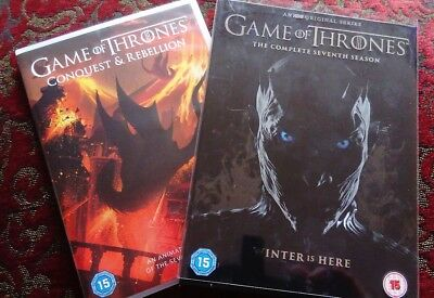 GAME OF THRONES Season 7 The Complete Seventh Season DVD Region 2. + bonus disc.