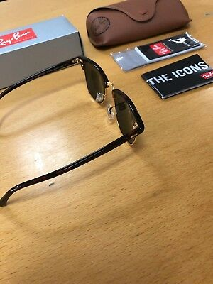 Ray-Ban Sunglasses Clubmaster RB3016 G15 Lenses 49mm