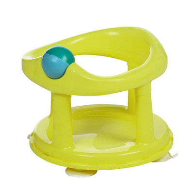 Baby Newborn Infant Water Tub Bath Support Pad Seat Safety 1st Lime Swivel