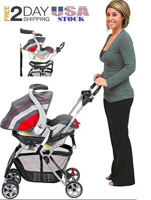 NEW Baby Trend Snap N Go EX Universal Infant Car Seat Carrier FREE SHIPPING